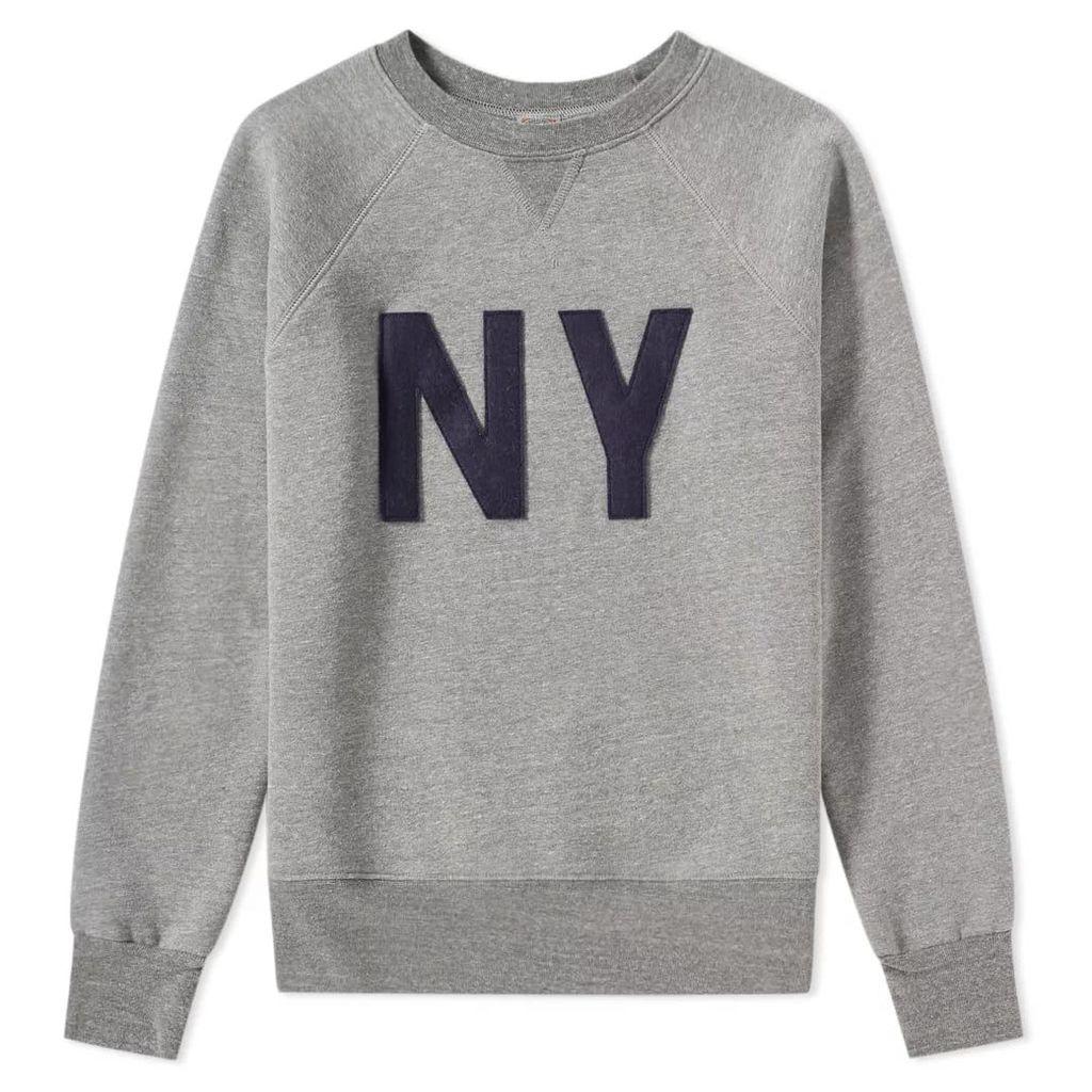 Ebbets Field Flannels New York Gothams Sweat Grey & Navy