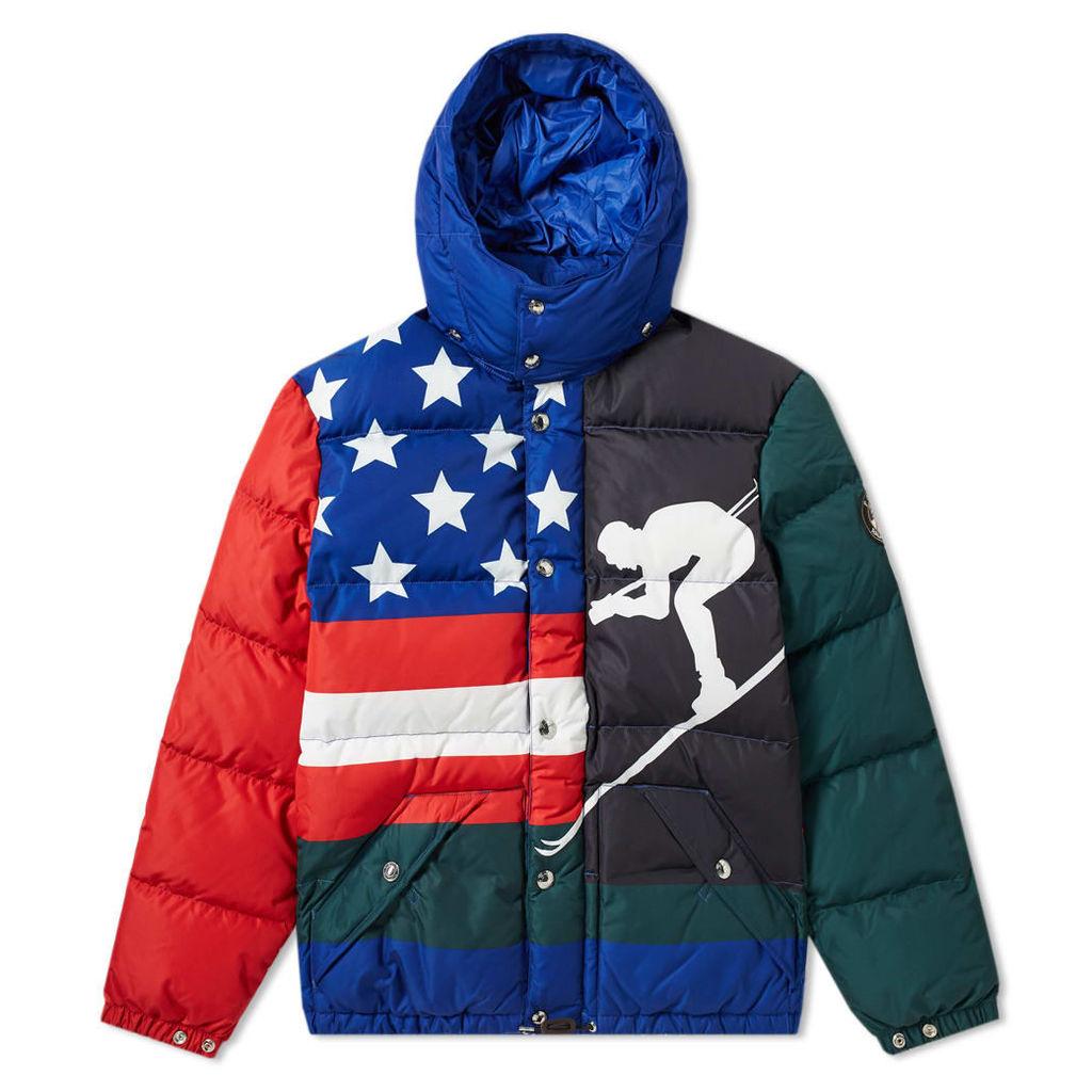 Polo Ralph Lauren Downhill Skier Down Jacket Multi