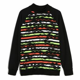 Lobo Mau - Printed Neon Sweatshirt