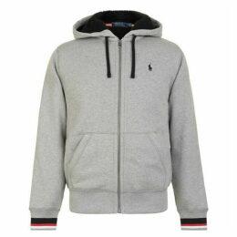 Polo Ralph Lauren Sherpa Zip Hooded Sweatshirt