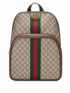 Gucci Ophidia GG medium backpack - Brown