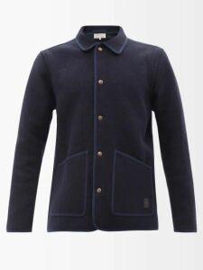 3 Moncler Grenoble - Houndstooth Print Ski Trousers - Mens - Beige