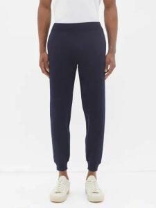 3 Moncler Grenoble - Check Cotton Blend Ski Trousers - Mens - Grey Multi