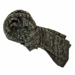 40 Colori - Charcoal Melange Wool & Cashmere Scarf