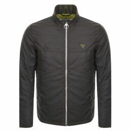 Barbour Beacon District Wax Jacket Green