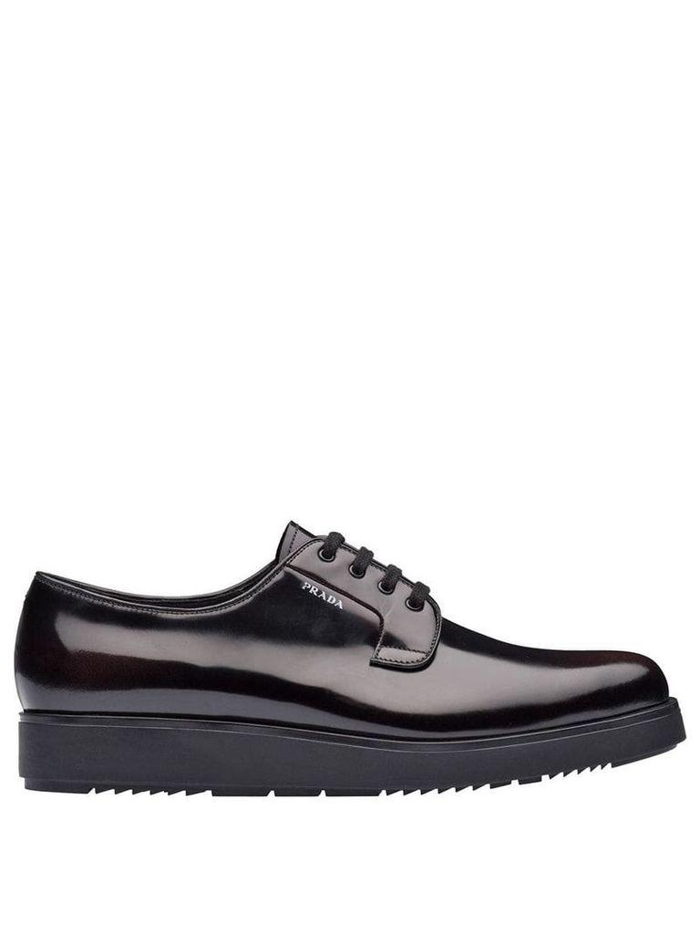 Prada platform Derby shoes - F0397 Cordovan