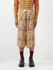 Off-white - Painted Slim Leg Jeans - Mens - Multi
