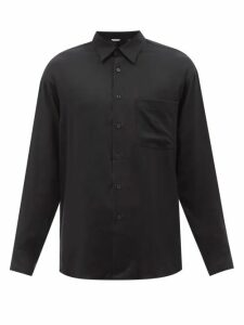 Gucci - Gg Supreme V Neck Cotton Blend Sweater - Mens - Black