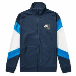 Nike Air Jacket Obsidian, Signal Blue & White