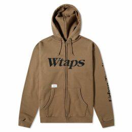 WTAPS Academy Zip Up Hoody Olive Drab