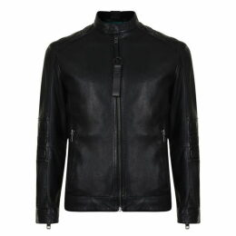 Boss Jagson Leather Jacket