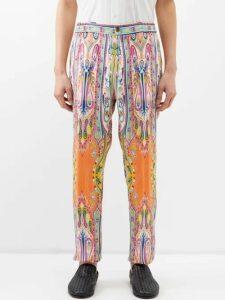 A.p.c. - Intarsia Knit Wool Sweater - Mens - Brown