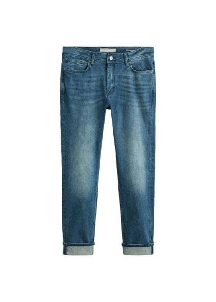 Slim-fit faded medium wash Jan Jeans