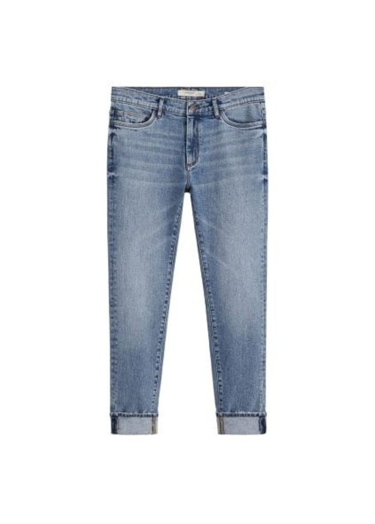Skinny faded medium wash Jude jeans