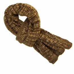 40 Colori - Brown Melange Wool & Cashmere Scarf