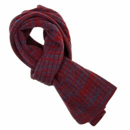 40 Colori - Red Melange Wool & Cashmere Scarf
