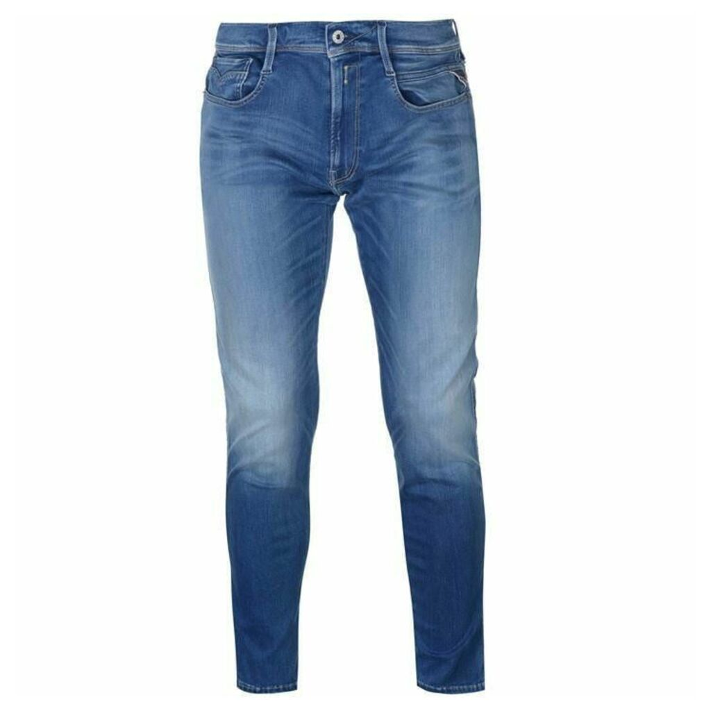 Replay Anbass Stretch Slim Jeans Mens