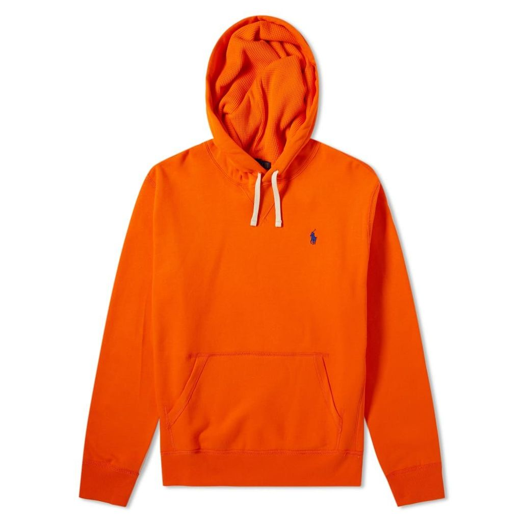 Polo Ralph Lauren Vintage Fleece Popover Hoody Sailing Orange