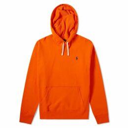 Polo Ralph Lauren Vintage Fleece Popover Hoody Sailing Orange