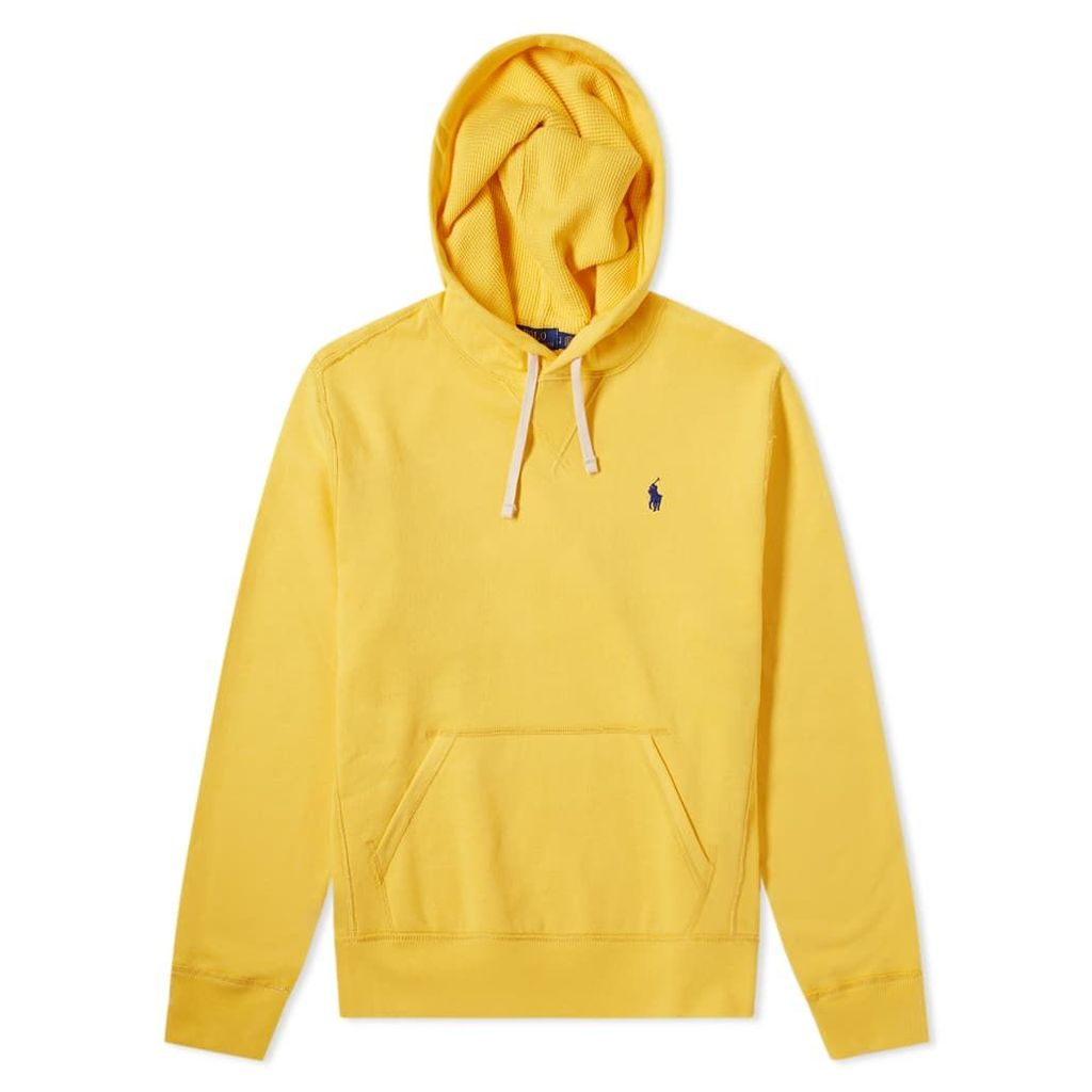 Polo Ralph Lauren Vintage Fleece Popover Hoody Chrome Yellow