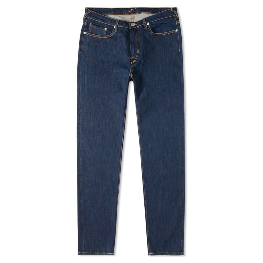Paul Smith Tapered Fit Stretch Jean Rinsed Indigo