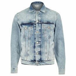Mens River Island Pepe Jeans light Blue denim jacket