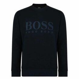 Boss Relaxed Fit Woven Sweatshirt