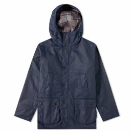 Barbour SL Bedale Hooded Wax Jacket - Japan Collection Indigo