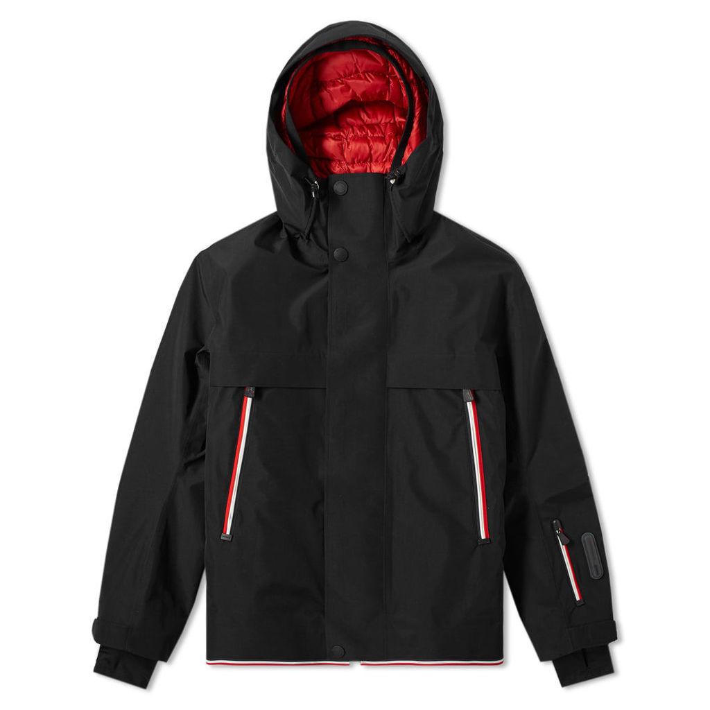 Moncler Grenoble Miller Ski Welt Recco Jacket Black