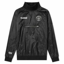 424 x Hummel Spray Jacket Black