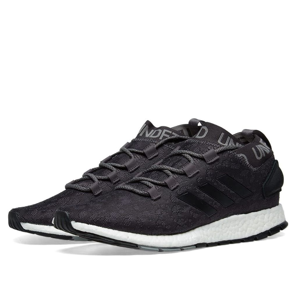 Adidas x Undefeated Pure Boost RBL Shift Grey, Cinder & Black