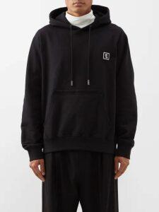 f56bc1696 Sasquatchfabrix - Side Stripe Cotton Blend Corduroy Trousers - Mens - Black