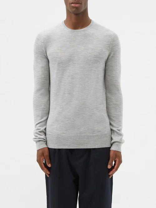 Ami - Straight Leg Jeans - Mens - Indigo