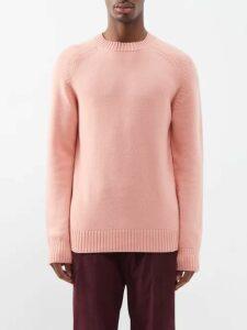 Calvin Klein 205w39nyc - Side Stripe Slim Leg Mohair Blend Trousers - Mens - Blue