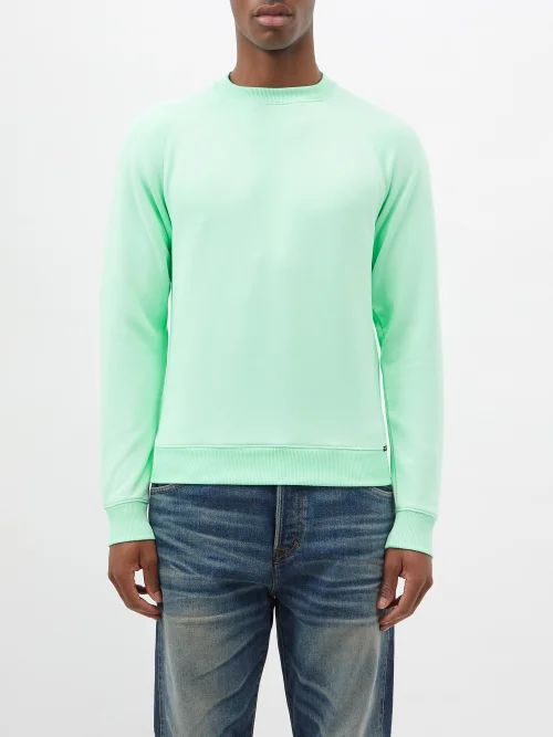 Etro - Cropped Linen And Wool Blend Trousers - Mens - Purple