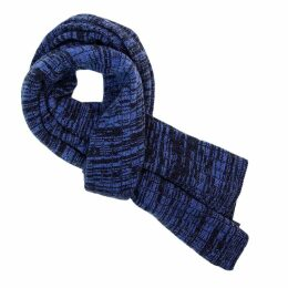 40 Colori - Navy Melange Wool & Cashmere Scarf