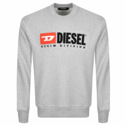 Diesel Division Sweatshirt Grey