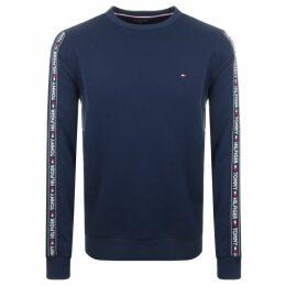 Tommy Hilfiger Lounge Track Top Sweatshirt Navy