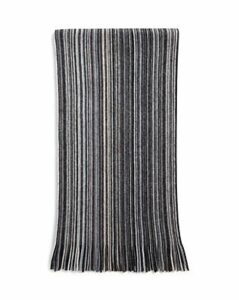 The Men's Store at Bloomingdale's Multi-Color-Stripe Wool Scarf - 100% Exclusive