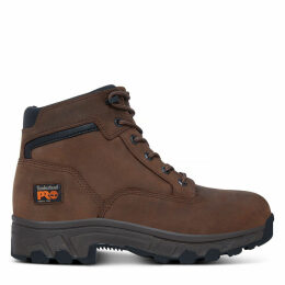 Timberland Men's Pro Workstead Shoe Brown Brown, Size 10.5 UK