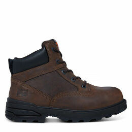 Timberland Men's Pro 6-inch Mortar Worker Boot Brown Brown, Size 12 UK