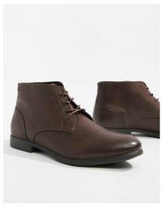 Jack & Jones lace up boots