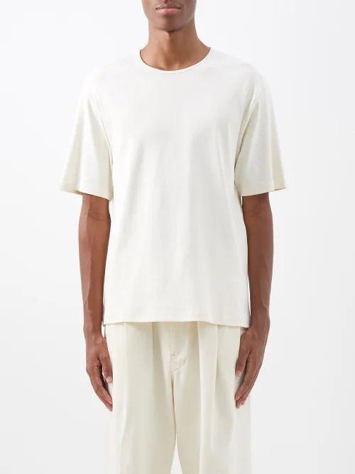 Loewe - X Charles Rennie Mackintosh Distressed Jeans - Mens - Blue