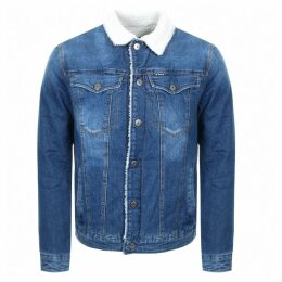 G Star Raw 3301 Sherpa Jacket Blue