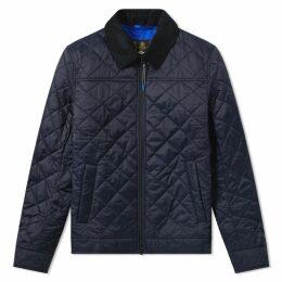 Barbour Trough Quilt Jacket Navy