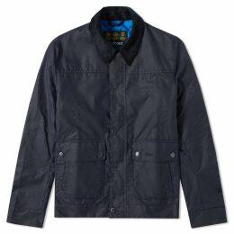 Barbour Kelvin Wax Jacket Royal Navy