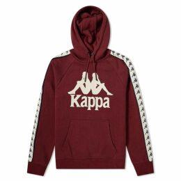 Kappa Authentic Hurtado Hoody Dark Damson