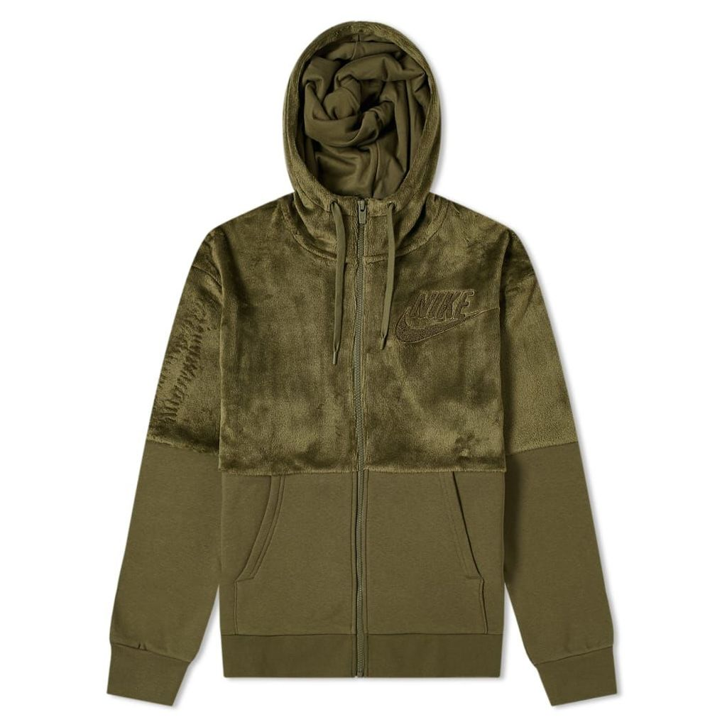 Nike Hairy Sherpa Winter Hoody Olive Canvas