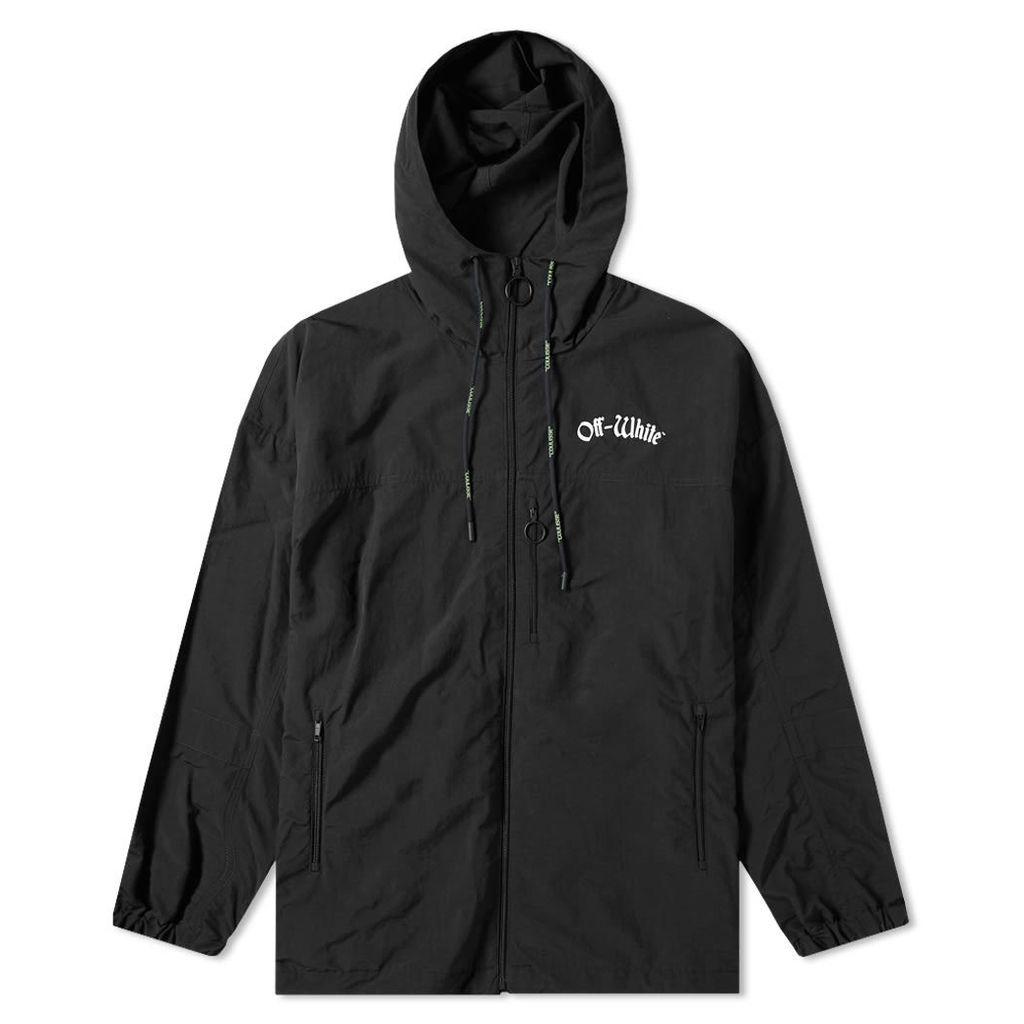 Off-White Windbreaker Jacket Black