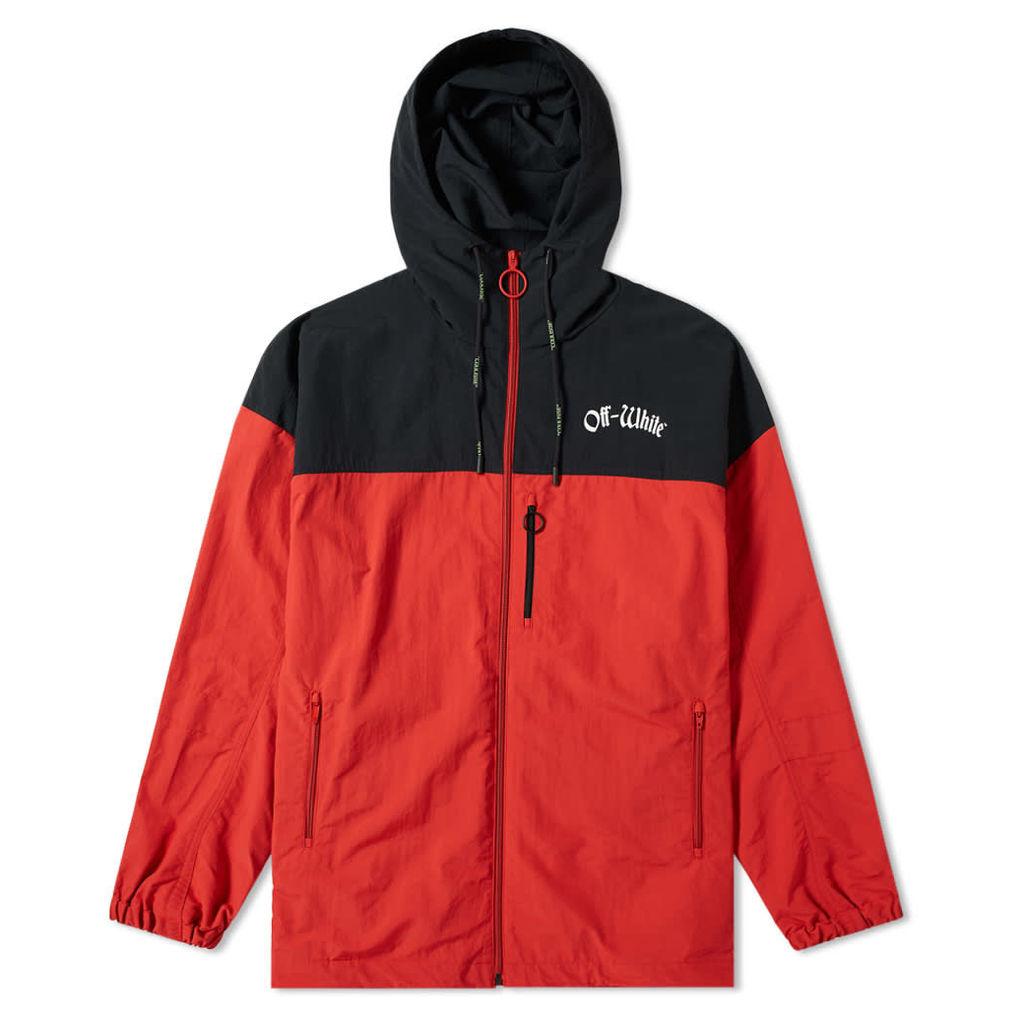Off-White Windbreaker Jacket Red